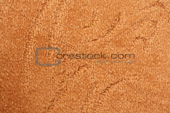 A orange carpet texture
