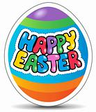 Happy Easter sign theme image 1