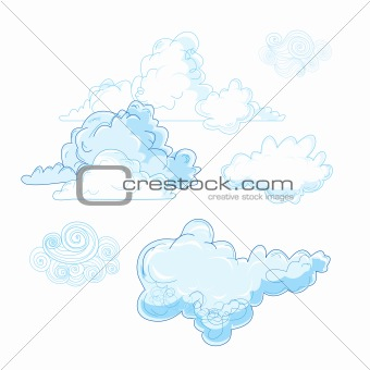 different cloud