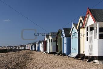 Beach Huts, Thorpe Bay