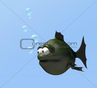 strange fish