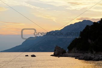 Adriatic Sunset in Croatia