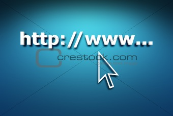 3d, address, arrow, background, blue, browser, business, communi