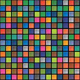 Seamless texture - iridescent tiles