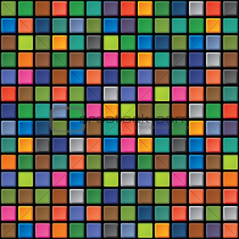 Seamless texture - iridescent tiles