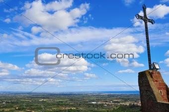 aerial view of Costa Daurada, Spain