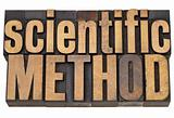 scientific method in wood type