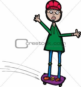 Scared Skater