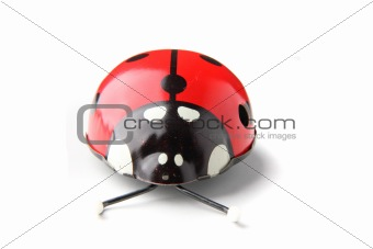 old red ladybird toy