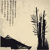 ZEN, silhouette, symbols