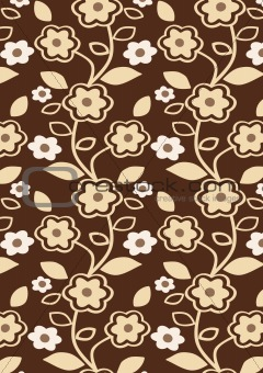 Autumn Flowers Pattern