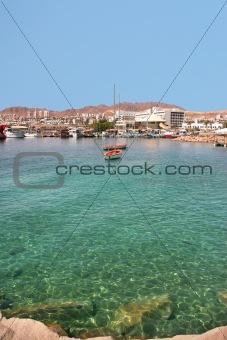 Bay of Eilat, Israel.