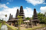 Royal Taman Ayun temple in Bali