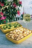 Sherry olives and almonds