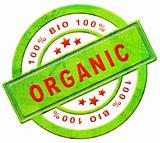 organic 100% bio label