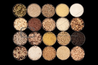 Cereals, Grains and Seeds