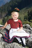 Bavarian toddler