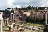Forum Romano, Rome, Italy.