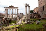 Forum Romano, Rome, Italy.