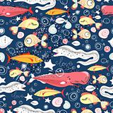 pattern of fish