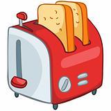 Cartoon Home Kitchen Toaster