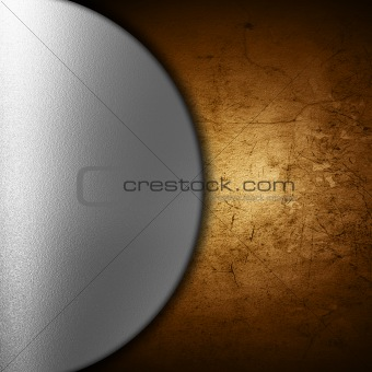 Abstract grunge and metal background