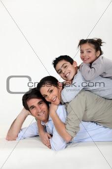 a family pyramid