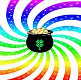 Rainbow Sparkle Pot