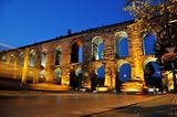 Valens Aqueduct in Istanbul.