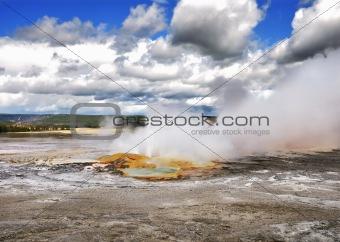 clepsydra geyser