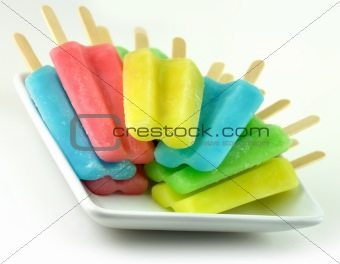ice cream pops