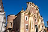 Collegiate Church of Brisighella. Emilia-Romagna. Italy.