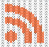 knitted RSS Icon