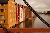 Trondheim, Bakklandet.