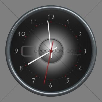 clock isolated