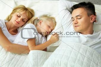 Sleeping at home