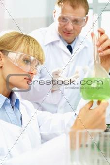 Analyzing reagents