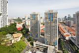 Singapore Chinatown Cityscape