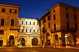 Ancient Roman Porta Borsari Gate in Verona, Italy