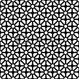 Abstract background with black elements