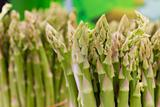 Close-up of asparagus stalks