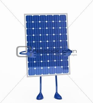 solar panel figure