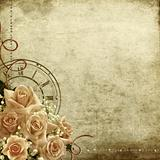 vintage romantic background