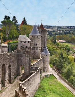 Carcassonne-the fortified town