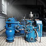 Heavy water pumping machinery