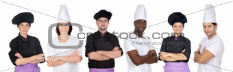 Team of kitchen