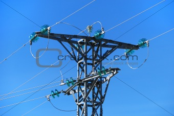 Medium voltage tower