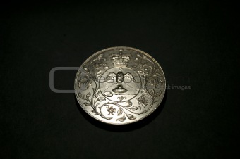 1977 Silver Jubilee Crown Coin