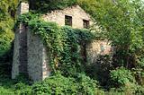 Ruined Abandoned House