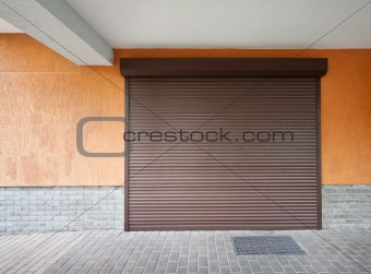Brown louver